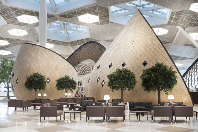 Heydar Aliyev International Airport Terminal - Autoban